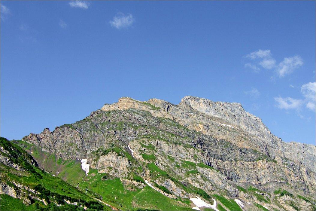 Klettersteig Graustock : Klettersteig graustock