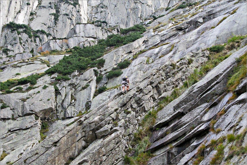Klettersteig Diavolo : Via ferrata del diavolo