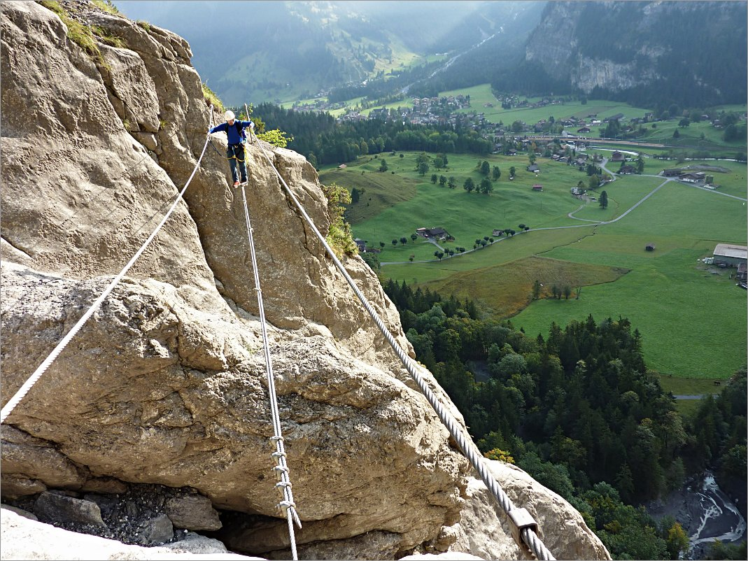 Klettersteig Allmenalp : Klettersteig kandersteg allmenalp