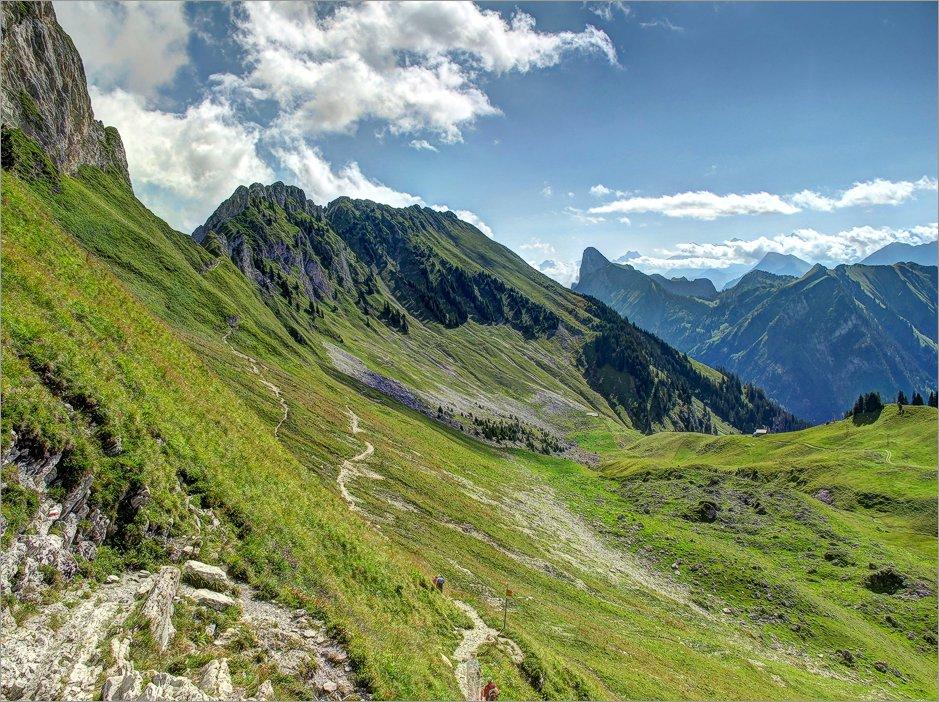 Klettersteig Gantrisch : Wanderung gantrisch bürgle